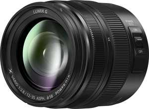 Panasonic - LUMIX G 12-35mm f/2.8 II ASPH. Wide Zoom Lens for Mirrorless Micro Four Thirds Compatible Cameras - Black