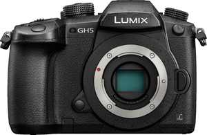 Panasonic - LUMIX GH5 Mirrorless 4K Photo Digital Camera (Body Only) - Black