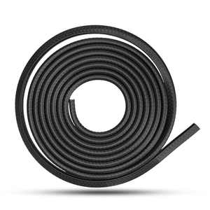 9.84ft Rubber Edge Trim, EEEkit Flexible Edge Protector for Sharp and Rough Surfaces, Push-On Edge Guard for Sharp Edges, Cars, Boats, Machinery, Easy Install