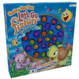 Pressman Let's Go Fishin' Under the Sea Game