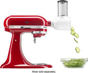KSMVSA Fresh Prep Slicer/Shredder Attachment for KitchenAid Stand Mixers - White