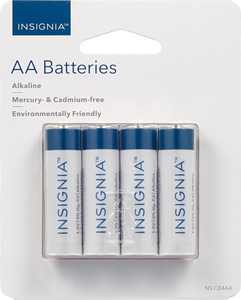 Insignia - AA Batteries (4-Pack)