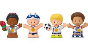 Little People Collector Team USA Classic Figure Gift Set