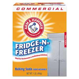 Case of 12 Fridge-n-Freezer Pack Baking Soda Powder, Unscented
