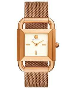 Women's Phipps Rose Gold-Tone Stainless Steel Mesh Bracelet Watch 41x29mm