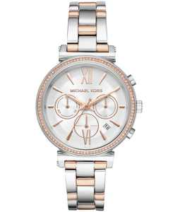 Women's Chronograph Sofie Two-Tone Stainless Steel Bracelet Watch 39mm