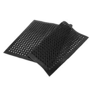 """Ktaxon 36"""" x 60"""" Black Indoor Commercial Industrial Anti-fatigue Floor Mat Grease Proof (Material:Rubber & Polyester & PVC)"""