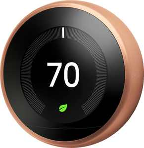 Google - Nest Learning Smart Wifi Thermostat - Copper