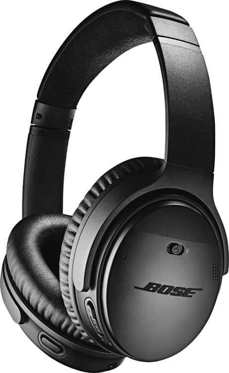 Bose - QuietComfort 35 II Wireless Noise Cancelling Headphones - Black