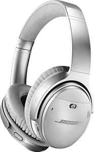 Bose - QuietComfort 35 II Wireless Noise Cancelling Headphones - Silver