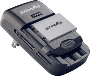 Digipower - TC-U450 Universal Camera Battery Charger - Black