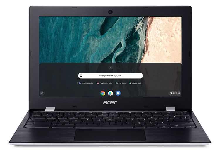 """Acer Chromebook 311, 11.6"""" HD, Intel Celeron N4020, 4GB LPDDR4, 32GB eMMC, Pure Silver, Gigabit WiFi, Bluetooth 5.0, CB311-9H-C4XC"""