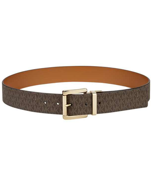 Reversible Signature Leather Belt