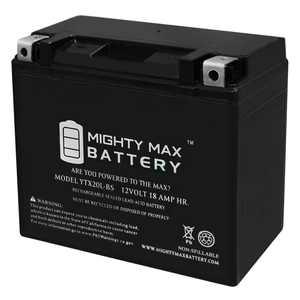 YTX20L-BS Battery for Yamaha Big Bear Grizzly Kodiak YFM400 400, 450