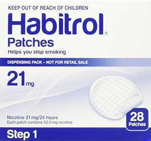 STEP 1 (28 Count) Habitrol Transdermal Nicotine Patches, 21mg