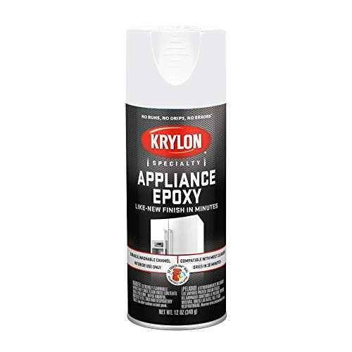 Krylon Appliance Epoxy Spray Paint, White, 12 Oz.