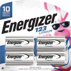 Energizer - 123 Batteries (4-Pack)