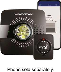 Chamberlain - MyQ Smart Garage Hub - Black