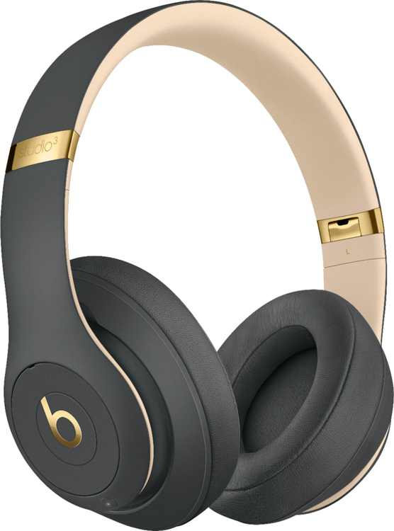 Beats by Dr. Dre - Beats Studio³ Wireless Noise Cancelling Headphones - Shadow Gray