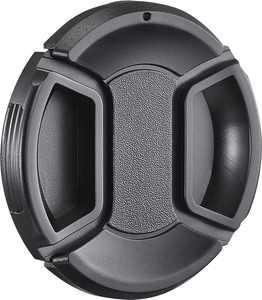Insignia - 58mm Lens Cap - Black