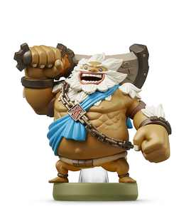 Nintendo - amiibo Figure (The Legend of Zelda: Breath of the Wild Series Daruk - Goron Champion)