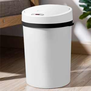 16L Automatic Trash Can, 4-in-1 Dry&Wet Separation Garbage Can Touchless Infrared Motion Sensor Trash Can for Kitchen Bathroom, Touch-Free Low Power Consumption Waste Bin Hand Sensing & Knee Sensing
