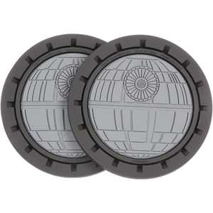 Star Wars? Death Star Auto Cup Holder Coasters 2 ct Carded Pack