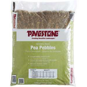 Pavestone .5 Cu. ft. Bagged Pea Pebble Stones