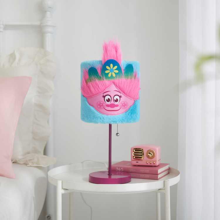 Dreamworks Trolls Plush Table Lamp