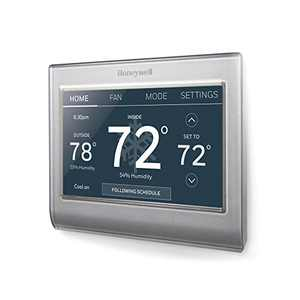 Honeywell Wi-Fi Smart Color Thermostat, 7 Day Programmable,Touch,Alexa Ready