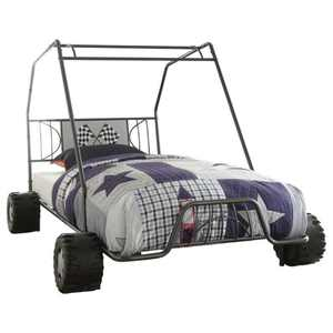 Xander Gunmetal Twin Go Kart Bed