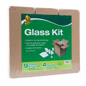 Duck Glass Kit with 4 Dividers & 9 Foam Pouches (Box Not Included)
