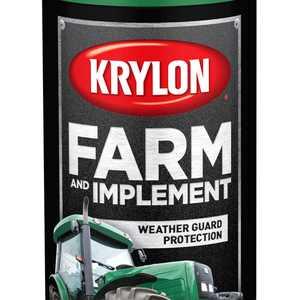 Krylon Farm & Implement Paint, High Gloss, John Deere Green, 12 oz