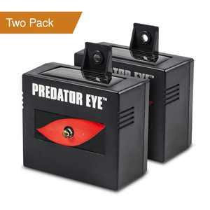 Predator Eye Nighttime Outdoor Solar Animal Repeller - 2 Pack