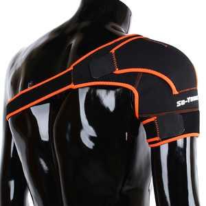 Tbest Adjustable Shoulder Support Brace Strap Joint Sport Gym Pain Relief Compression Bandage Wrap Shoulder Bandage,Shoulder Bandage