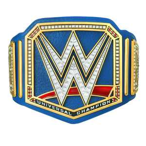 Official WWE Authentic Universal Championship Blue Commemorative Title Belt