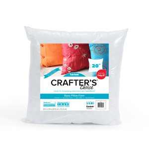 """Fairfield Crafter's Choice Pillow Insert 20"""" x 20"""""""