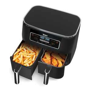 Ninja Foodi 4-in-1, 8-qt., 2-Basket Air Fryer with DualZone Technology