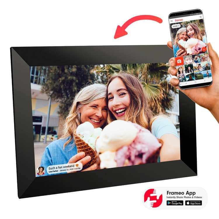 Sylvania, 10 in. Wi-Fi Frameo APP Control Digital Cloud Picture Frame, SDPF1096