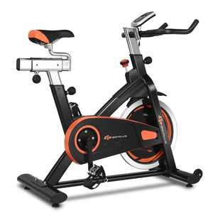 Goplus Exercise Bike Cycle Trainer Indoor Workout Cardio Fitness Bicycle Stationary