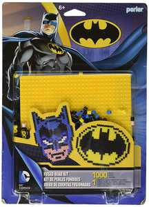 Beads 'Batman Superhero' Fuse Bead Activity Kit for Kids Crafts, 1002 pcsUse the included ironing paper, Perler pegboard, and a household iron to.., By Perler