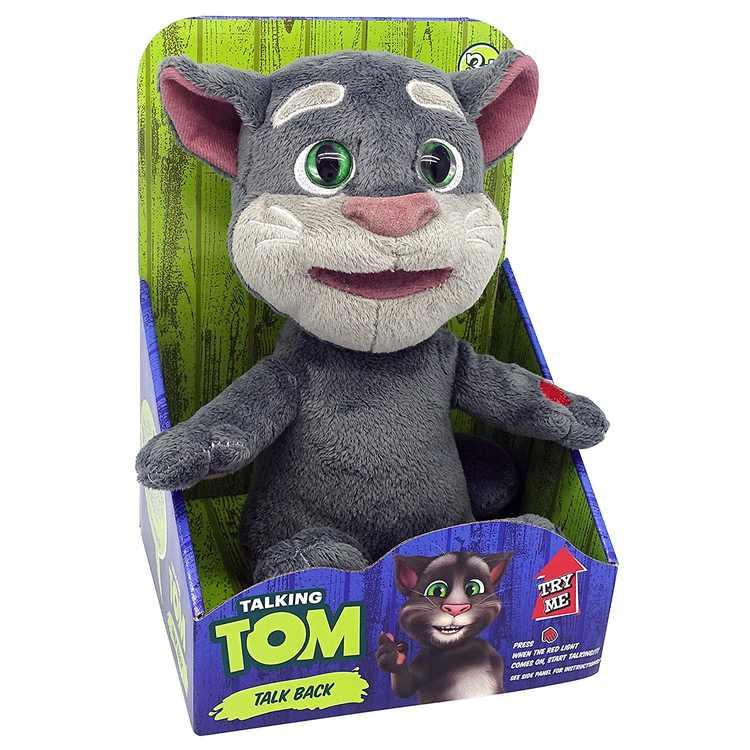 Dragon-i Toys Mini Talking Tom, Repeats what you say By Dragoni Toys