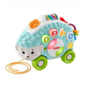 Award Winning Fisher-Price Linkimals Happy Shapes Hedgehog, Musical Baby Toy