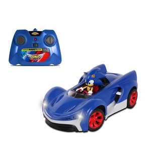NKOK Sonic Team Racing Radio Controlled Sonic The Hedgehog w/ Turbo Boost