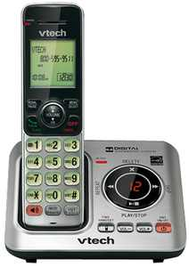 VTech CS6629 / CS6429 Cordless Phone DECT 6.0 Technology 1.9GHz with Expandable Up To 5 Handsets
