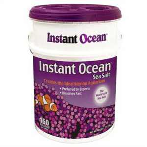Instant Ocean Sea Salt for Marine Aquariums, Nitrate & Phosphate-Free, 160 gal