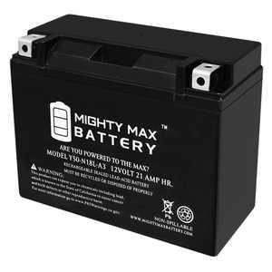 """""""Y50-N18L-A3 350 CCA Maintenance Free Universal AGM Motorcycle Battery"""""""