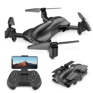 Holy Stone HS165 Drone with 1080P Camera for beginners adults RC Quadcopter with GPS Return Home, Follow Me, Altitude Hold and 5G WiFi Transmission, Color Black