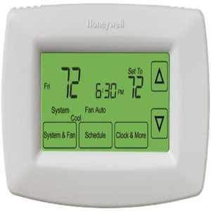 Honeywell 7-Day Touchscreen Programmable Thermostat