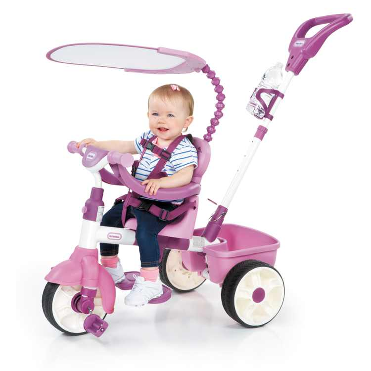 Little Tikes 4-in-1 Basic Edition Trike -Pink